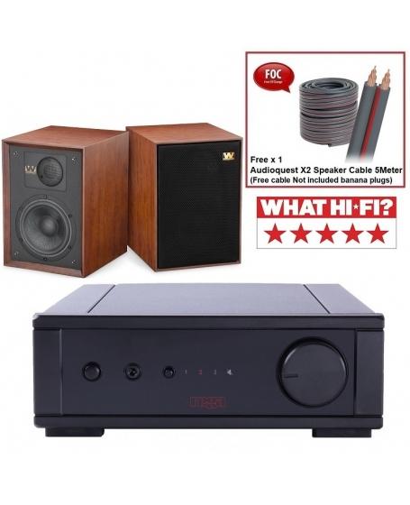 Rega io + Wharfedale Denton 85th Anniversary Hi-Fi System Package