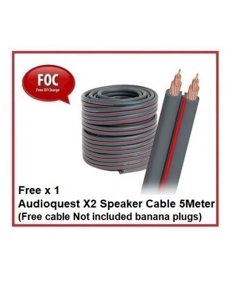 Leak Stereo 130 (Silver)+ Wharfedale EVO 4.2 (Black) Hi-Fi System Package