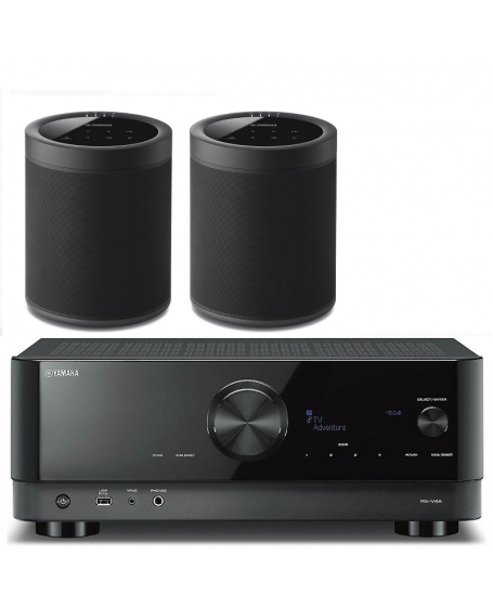 Yamaha RX-V4A Wireless Surround Package