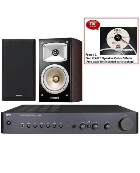 NAD C 316BEE V2 + Yamaha NS-B330 Hi-Fi System Package