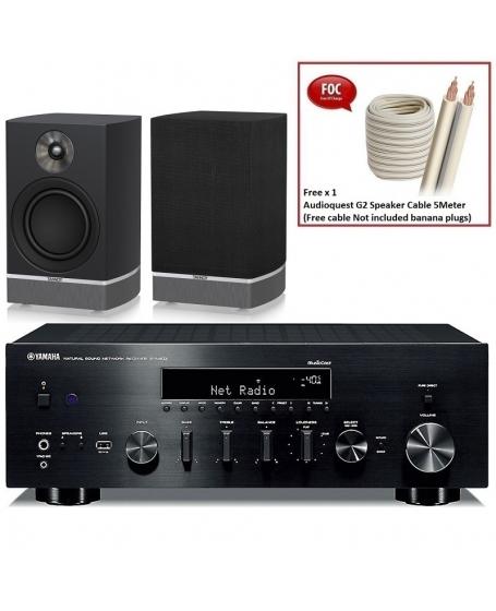 Yamaha R-N803 + Tannoy Platinum B6 Hi-Fi System Package