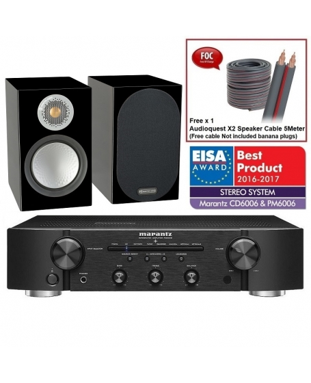 Marantz PM6006 + Monitor Audio Silver 50 Hi-Fi System Package