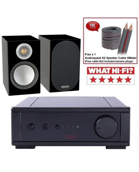 Rega io + Monitor Audio Silver 50 Hi-Fi System Package