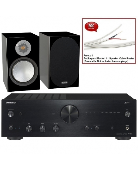 Onkyo A-9150  + Monitor Audio Silver 100 Hi-Fi System Package