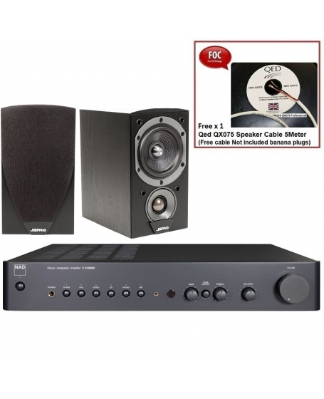 NAD C 316BEE V2 + Jamo C601 Hi-Fi System Package