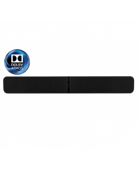 Bluesound Pulse Soundbar+ With Dolby Atmos & Wireless Streaming Sound System