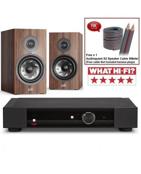 Rega Elex-R + Polk Audio Reserve R200 Hi-Fi System Package