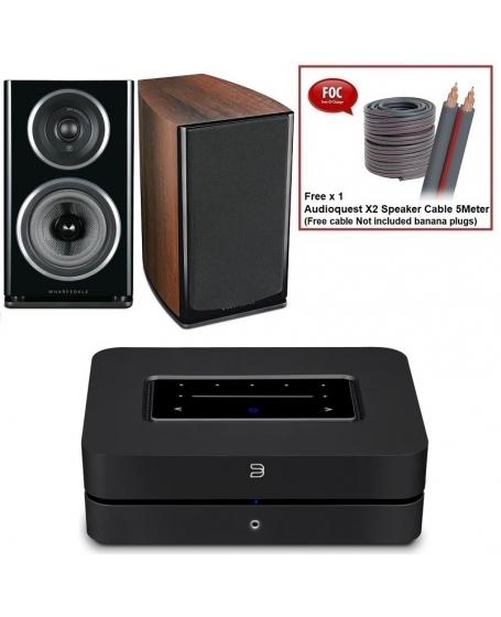 Bluesound Powernode 2i + Wharfedale Diamond 11.1 Hi-Fi System Package