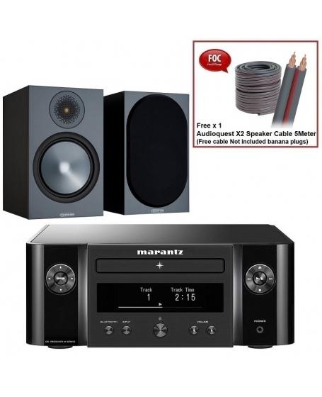 Marantz M-CR412 + Monitor Audio Bronze 50 6G Hi-Fi System Package