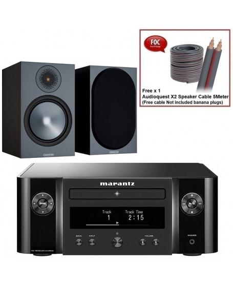 Marantz M-CR612 + Monitor Audio Bronze 100 6G Hi-Fi System Package