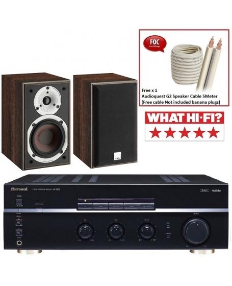 Sherwood AX-5505 + Dali Spektor 1 Hi-Fi System Package
