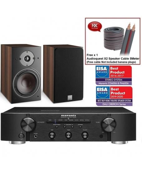 Marantz PM6006 + Dali Oberon 3 Hi-Fi System Package