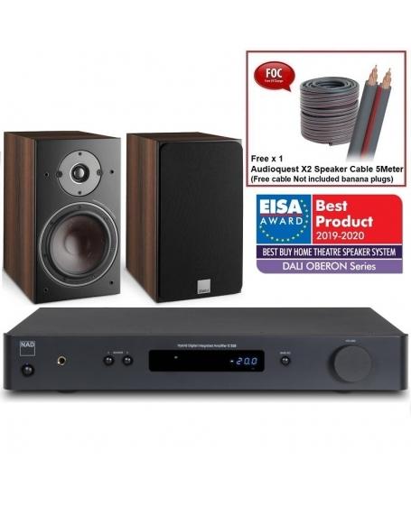 NAD C 338 + Dali Oberon 3 Hi-Fi System Package