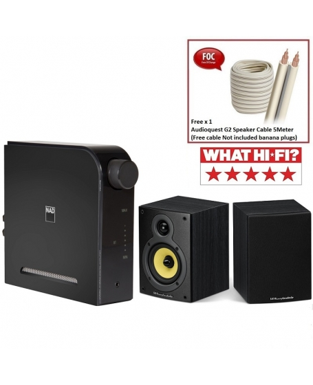 NAD D 3020 V2 + Wharfedale Crystal 4.1 Hi-Fi System Package
