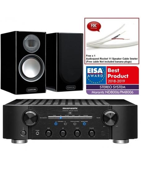 Marantz PM8006 + Monitor Audio Gold 100 5G Hi-Fi System Package