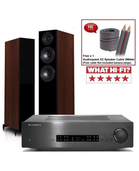Cambridge Audio CXA60 + Wharfedale Diamond 12.3 Hi-Fi System Package
