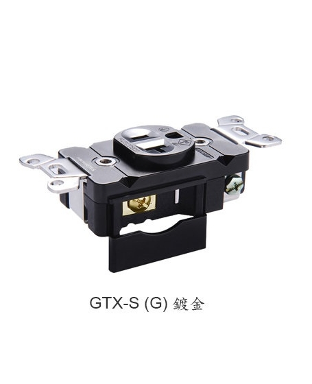 Furutech GTX-S(G) High End Performance 20A 125V Single Receptacles
