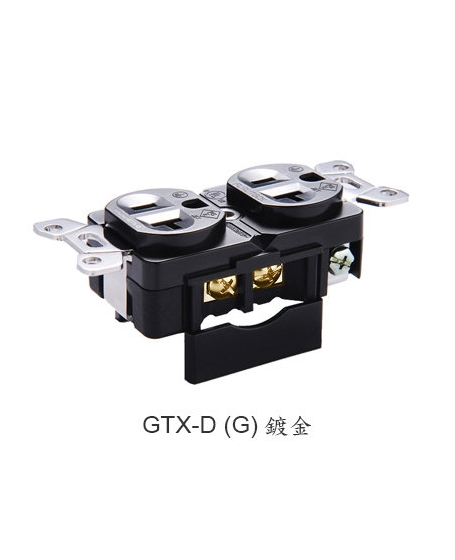 Furutech GTX-D(G) High End Performance 20A 125V Duplex Receptacles
