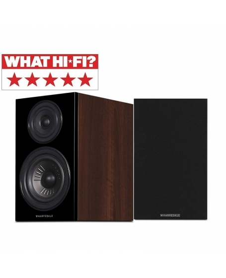 Wharfedale Diamond 12.1 Bookshelf Speaker (Opened Box New)