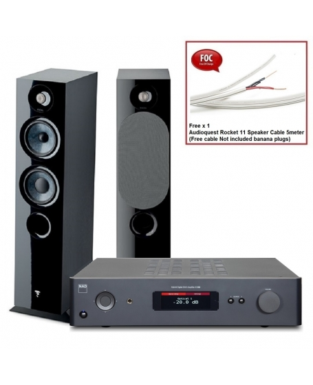 NAD C 368 + Focal Chora 816 Hi-Fi System Package