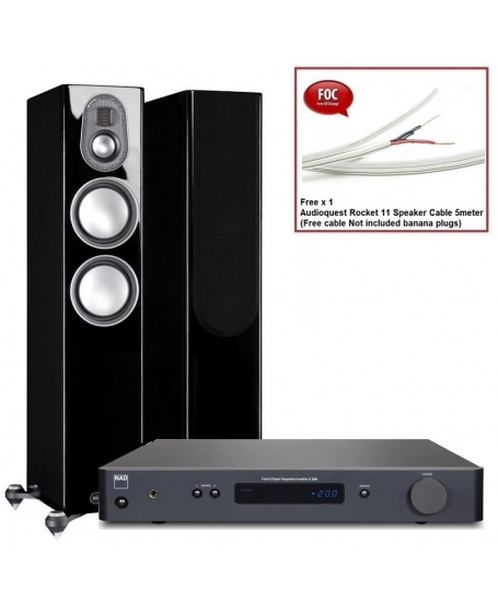 NAD C 388  + Monitor Audio Gold 200 5G Hi-Fi System Package