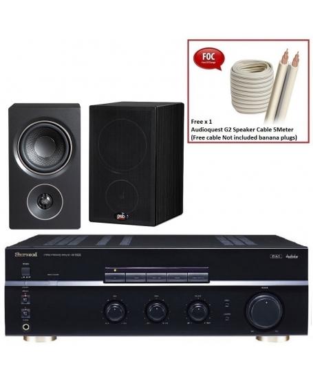 Sherwood AX-5505 + PSB Alpha P3 Hi-Fi System Package