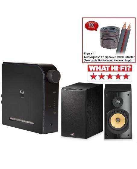 NAD D 3020 V2 + PSB Imagine XB Hi-Fi System Package
