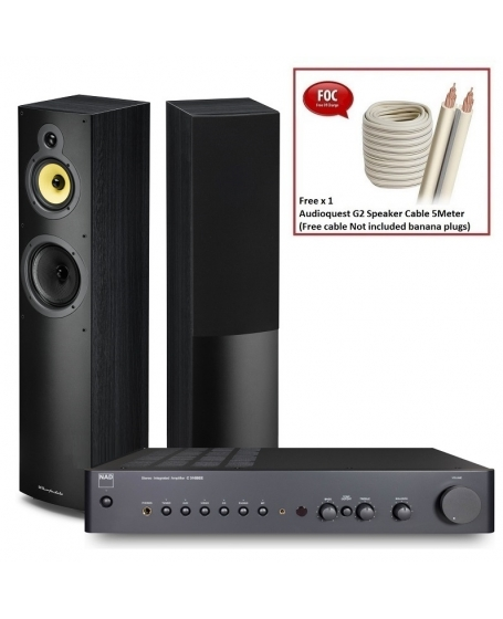 NAD C 316BEE V2 + Wharfedale Crystal 4.3 Hi-Fi System Package