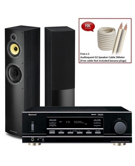 Sherwood RX-5502 + Wharfedale Crystal 4.3 Hi-Fi System Package