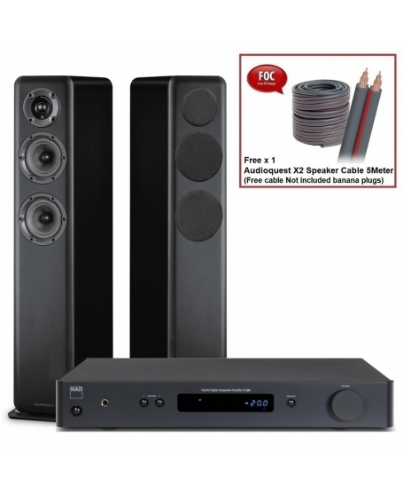 NAD C 328 + Wharfedale D330 Hi-Fi System Package