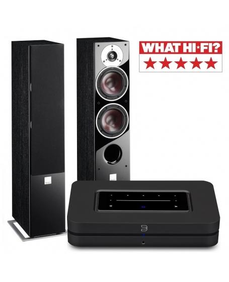 Dali Zensor 5 AX + Bluesound NODE ( 2021 ) Hi-Fi System Package