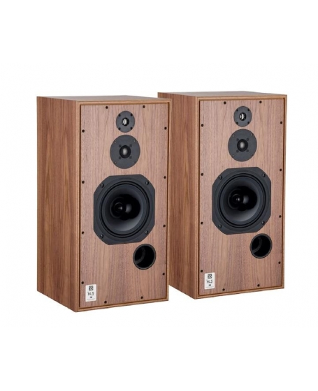 Harbeth Super HL5 Plus XD Bookshelf Speakers Handmade In England (Walnut)