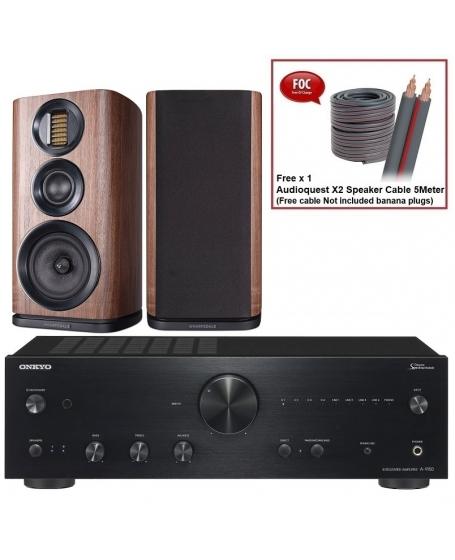 Onkyo A-9150 + Wharfedale EVO 4.2 Hi-Fi System Package