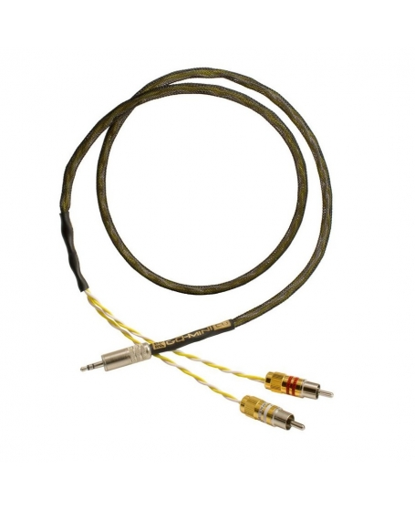Kimber Kable GQ-Mini-Cu Mini Jack to RCA Interconnect Cable 2 Meter Made In USA