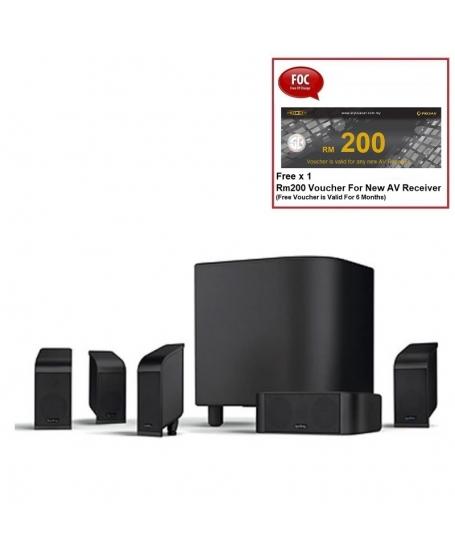 Infinity TSS-500 5.1Ch Satellite Speaker Package