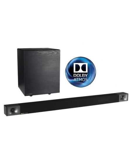 Klipsch Cinema 800 Dolby Atmos 3.1 Sound Bar & Wireless Subwoofer