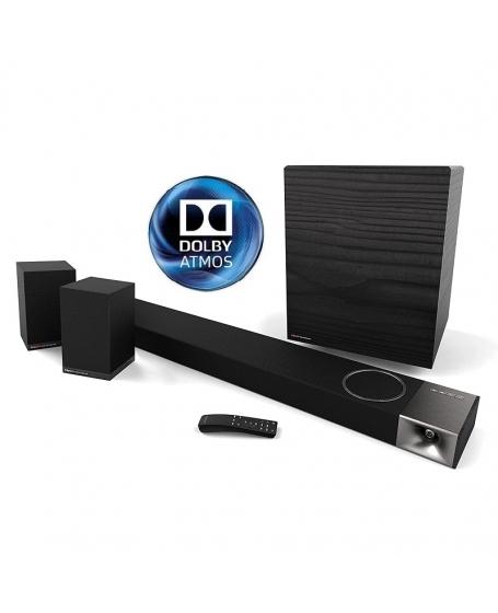 Klipsch Cinema 1200 5.1.4 Dolby Atmos Sound Bar and Sound Bar System