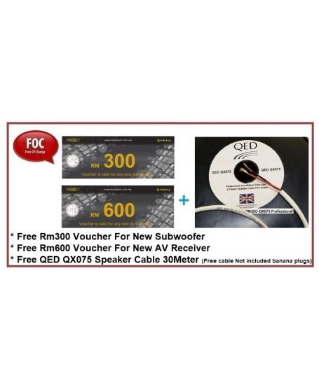 Wharfedale D330 + D310 + D300C + D300 3D 5.0.2Ch Dobly Atmos Speaker Package