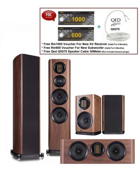 Wharfedale EVO 4.4 5.0 Speaker Package