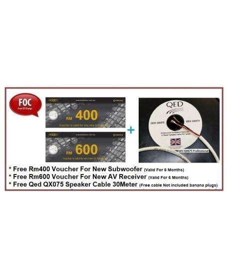 Wharfedale Diamond 12.4 5.0 Speaker Package