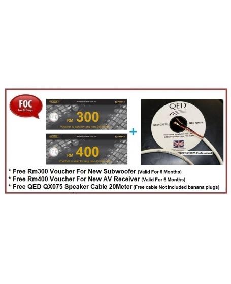 Wharfedale D320 + D300C + D310 Speaker Package