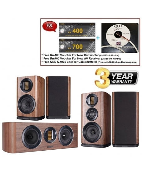 Wharfedale EVO 4.2 + EVO 4.CS + EVO 4.1 Speaker Package