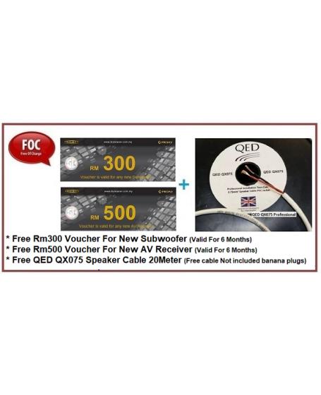 Wharfedale Diamond 12.1 + 12C + 12.0 Speaker Package