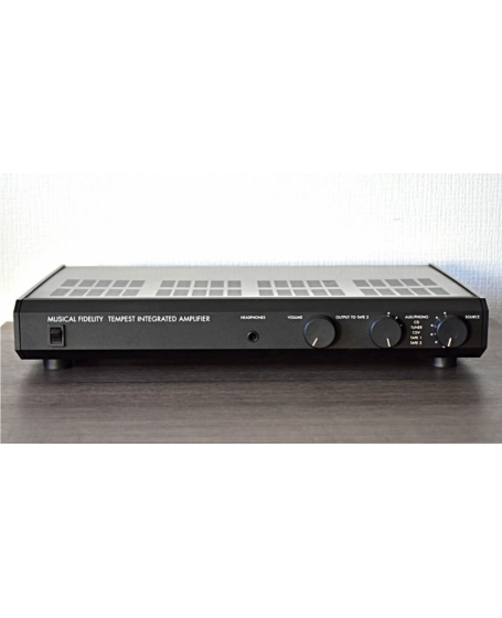 Musical Fidelity Tempest Integrated Amplifier Made In England (PL) - Reserved By Peter 12/10/2021