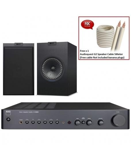 NAD C 316BEE V2 + KEF Q150 Hi-Fi System Package