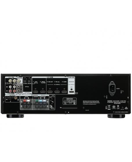 Denon AVR-X550BT + Infinity TSS-500 5.1Ch Home Theatre Package