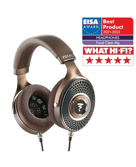 Focal Clear MG Open-Back High-Fidelity Over-Ear Headphones Made In France