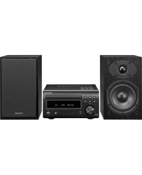 Denon D-M41 HiFi System with CD, Bluetooth FM (PL)