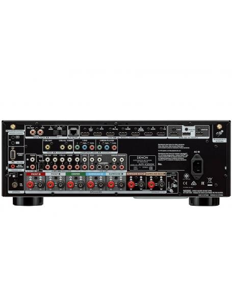 Denon AVR-X3500H 7.2Ch Atmos Network AV Receiver (DU) - Reserve