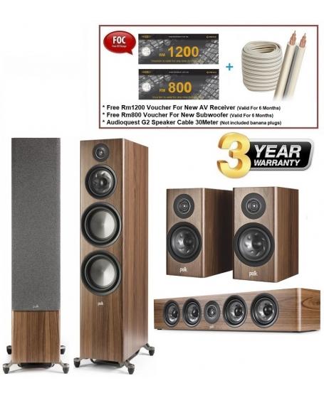 Polk Audio Reserve R700 + R350 + R200 Speaker Package